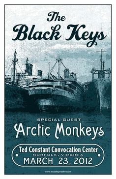 The Black Keys + Arctic Monkeys-I would die to see this show, if only Vampire weekend were there too