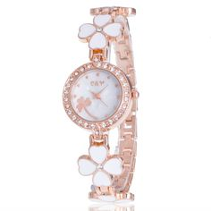 >> Click to Buy << Fashion 2017 Rose Gold Women Quartz Watches Luxury Brand Diamond Ladies Rhinestone Watch Bracelet Female Clock Relogio Feminino #Affiliate