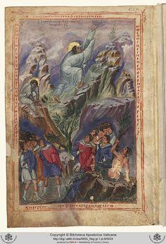 Reg.gr.1B  Biblia. Vetus Testamentum [Greco]  sec. X  Persistent URL: http://digi.vatlib.it/view/MSS_Reg.gr.1.pt.B