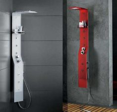The Flymood shower panels by Albatros Idromassagi are the lates addition to the product range of this luxury bathroom product manufacturer. In its slim, ye
