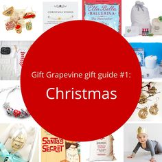 Gift Grapevine gift guide # 1 - Christmas themed gifts for babies and kids