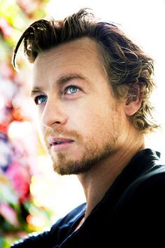 in fantasy casting Simon Baker as 'Governor' Lord John Grey weird this is just how I pictured him too.