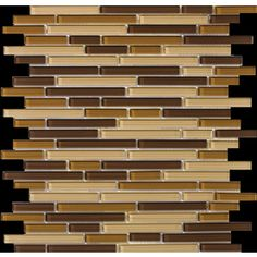 Emser 12-in x 12-in Lucente Filigrana Glass Wall Tile