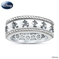 Mickey Magic In Motion Ring. I just love, love, love this!