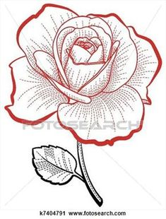 Rose Drawing Hand drawing rose View Large Clip Art Graphic - Illustration of a hand drawing rose for print and design Art Floral, Pencil Drawings, Art Drawings, Rose Drawings, Pencil Art, Graphic Illustration, Illustrations, Rose Illustration, Rose Clipart