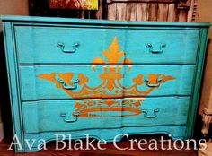 van Gogh Fossil Paint = Crown The Graphics Fairy--Ava Blake Creations