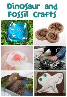 Dinosaur & Fossil Crafts and Activities - Fun Family Crafts