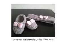 Tricoter des chaussons et un bandeau pour bébé