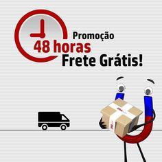 48 horas de Frete Grátis para as regiões Sul e Sudeste  na IMAshop!!! Imperdível!! Confira!!! www.imashop.com.br