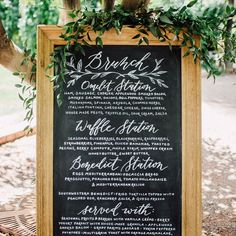 """Katie Roden on Instagram: """"I love this giant chalk menu! It looked great in my living room @jannabrowndesign  Maybe I need to invest in one of these. Photographed by @paulsimonphoto with perfect greenery by @posiesflorals"""""""