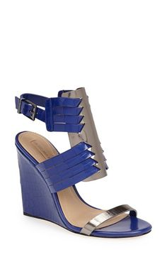 BCBGMAXAZRIA 'Liv' Wedge Sandal (Women) available at #Nordstrom