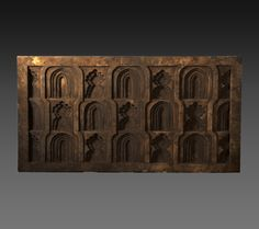 Cod. 9000-0049 - bas-relief with Mihrab - marble - 16th Century - Age Mughal - India - H. 64 - W. 117 - D. 8 cm. REQUEST MORE INFO - curto.tonio@gmail.com