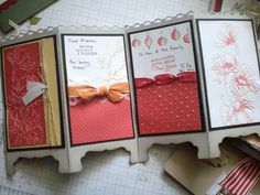 hand stamped card ideas | Handmade Christmas cards – 2011