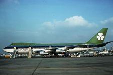 Original Kodachrome 35mm slide of EI-ASI Boeing B747-148 Aer Lingus