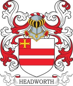 Headworth Family Crest and Coat of Arms