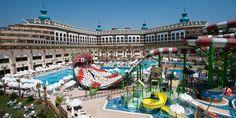 Vacanta de vara 2018 la mare pe litoral in Turcia la Hotel Crystal Sunset Luxury Resort de 5 stele din Antalya Side