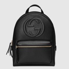 24fa7c0df787 Soho leather chain backpack Gucci Black Gucci Backpack, Ysl Backpack,  Backpack Handbags, Backpack
