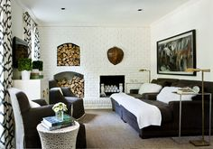 12 questions your interior designer should ask you  |  Contemporary Living Room by Erica George Dines Photography