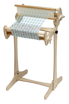 The Cricket Floor Stand makes it easier than ever to use your Cricket Loom. It's simple to put your Cricket on the stand and adjust the angle, and it's quick to remove when you want to take your Crick