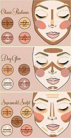 How to make those make up looks: