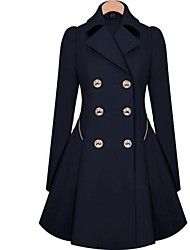 Skymoto®Women's Fashion Slim OL Trench Faux Long Design Trench Coat Save up to 80% Off at Light in the Box using coupon and Promo Codes.