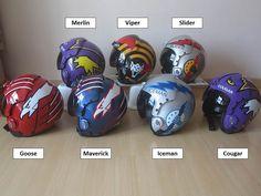 Top Gun helmets