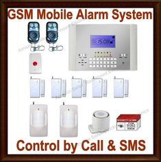 ES10GSM-5w2m Wireless Home Business Security Burglar Alarm and Cellular All-In-One System by Rockmount Electronics. $189.99. [**How It Works**]: 1) When emergency occurs, it will automatically dial up to 6 phone numbers until reaches someone and SMS to up to 3 cell phones.  2) Then it will play your own personal recorded message. You can listen into the home and call back to take any actions: arm system again, disarm system, blare siren again or call the police etc.  3) With ...
