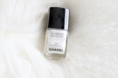 white chanel nail polish