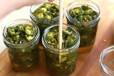 Tasty Kitchen Blog: Candied Jalapenos Cowboy Candy. Guest post by Calli Taylor of Make It Do, recipe submitted by TK member Rebecca of Foodie with Family.