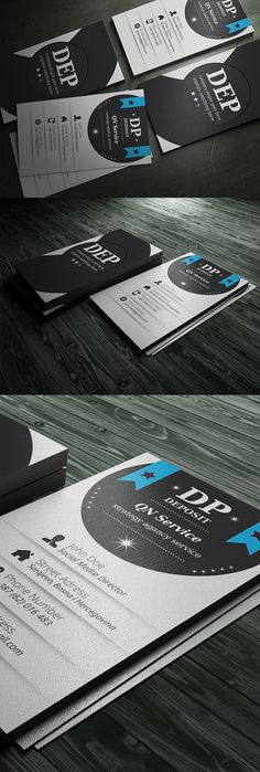 Buy Business Card Qn Service II by riverpixels_studio on GraphicRiver. Unique Premium templates are the new elite standard in high-end business materials. Simply Premium templates are desi. Cheap Business Cards, Digital Business Card, Business Cards Online, Luxury Business Cards, Artist Business Cards, Custom Business Cards, Business Card Design, Creative Business, Magazine Design