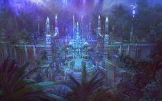 Environment Artwork -- The Capital City of Pandaemonium.
