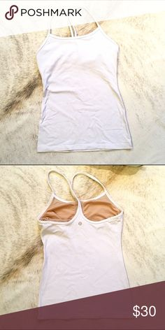 Lululemon Workout Tank - Sz 4 Gently used. Still in good condition. lululemon athletica Tops Tank Tops