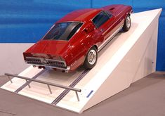 1968 Shelby GT500 KR, as shown by Ford at the 2002 SEMA show.