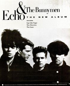 "Echo and the Bunnymen, ""Echo and the Bunnymen"" [1987] 