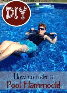 DIY Pool Hammock