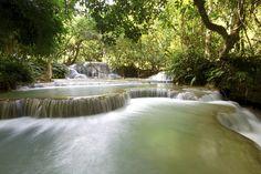 Kung Si Waterfall, Luang Prabang, Laos