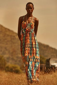 Anthropologie EU Harmony Maxi Dress, Style No. S7130433047403