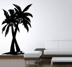 Vinyl Wall Art Decal Large Coconut Palm Trees Forest Remo... https://www.amazon.com/dp/B008D9VWHU/ref=cm_sw_r_pi_dp_ReHCxb71QH13A