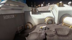 Overwatch Official New Map Preview: Horizon Lunar Colony: Developer Blizzard talks about the locale's creation and reveals it's arriving…