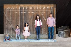 Height of Happiness Holiday Photo Cards by Carolyn MacLaren at minted.com