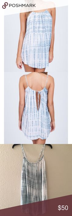 Acacia Capri Dress in Shibori Great condition. Only worn once for a couple of hours to get ready for my wedding.  Size small, has only been hand washed and hung to dry once after use. No noticed discoloration or damage. acacia swimwear Swim Coverups