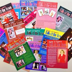 We've always been the Talk of the Town! Making history. Do you remember these? Throwback to the 80's and 90's