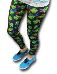 TMNT Faces Women's Leggings
