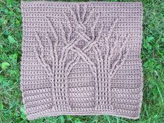 Crochet cabled trees on Ravelry - Donna Kay Lacey