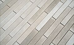 Narrow Modular Pavers... I'm taking out my cement blocks and putting in these babies.