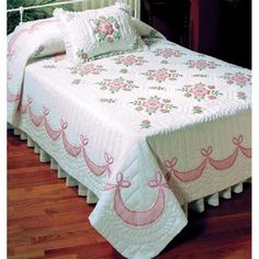 Design Works™ Rose of Sharon Quilt Top Stamped Cross-Stitch Was: $69.99                     Now: $59.99