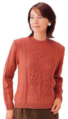 Free Pattern: Flower Sweater