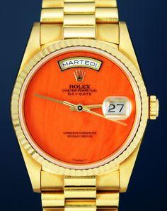 Rolex - Freidrich Gulda's Tangerine Dream Day-Date