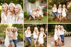 Poses for 3 sisters