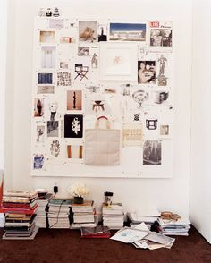 Inspiration Board | Photo: Hugh Stewart | the inspired office on domino.com